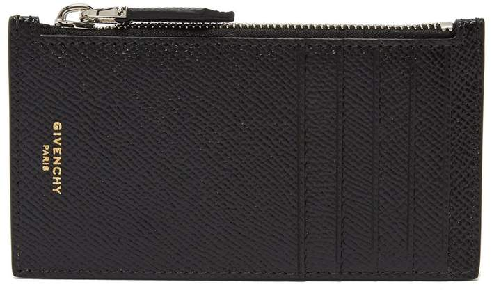Givenchy Textured leather card holder