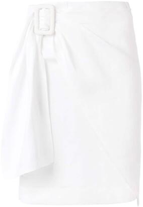 Joseph Wrap Mini Skirt