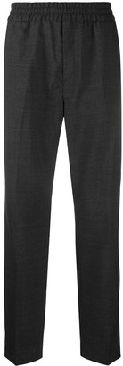 Acne Studios Elastic-Waist Wool Trousers