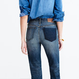 Madewell Cruiser Straight Jeans: Shadow-Pocket Edition