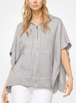 Michael Kors Cashmere Hooded Poncho