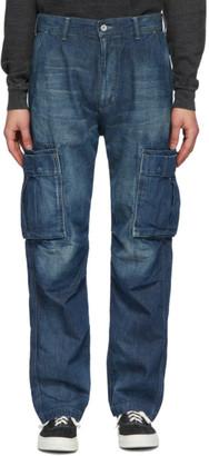 Neighborhood Indigo Washed C-PT Cargo Jeans