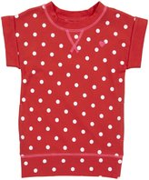 Carter's Knit Tunic - Coral Dot-6X
