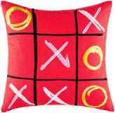 Kas Winner Red Square Cushion