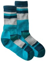 L.L. Bean L.L.Bean Women's SmartWool Stripe Hiking Socks, Light Crew