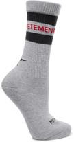 Vetements + Reebok Intarsia Cotton-blend Socks