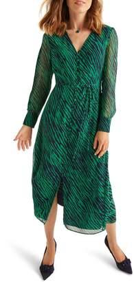 Boden Hazel Long Sleeve Midi Dress