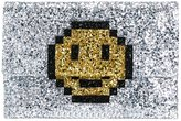 Anya Hindmarch 'Pixel Smiley' clutch