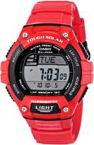 Casio Men's WS220C-4AV Tough Solar Power Sport Watch