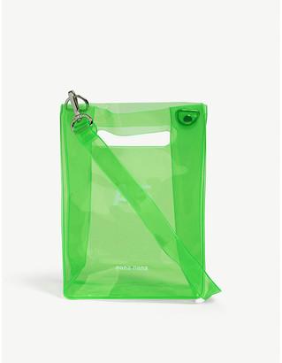 NANA-NANA A5 neon PVC tote bag