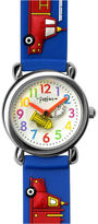 Dakota Fusion Kids' Blue Firetrucks Watch