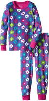 Hatley Flower Hearts PJ Set (Toddler/Little Kids/Big Kids)