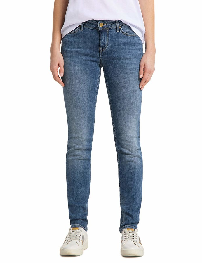 Thumbnail for your product : Mustang Women's Skinny Fit Jeans - Blue - Blau (brushed bleached 512) - 32/36 (Brand size: 32/36)