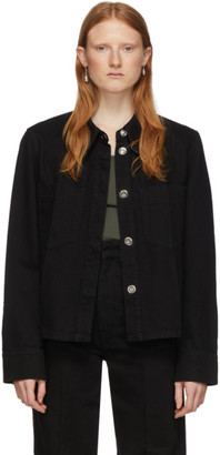 Lemaire Black Denim Boxy Jacket