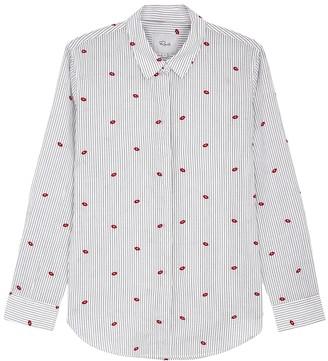 Rails Taylor Striped Cotton Shirt