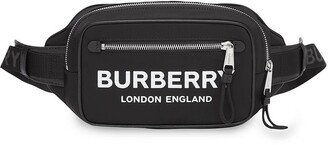 Burberry logo-print ECONYL belt bag