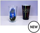 Star Wars 2 Pk Lightsaber And Last Jedi Glass