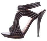 Elizabeth and James Caged Platform Sandals