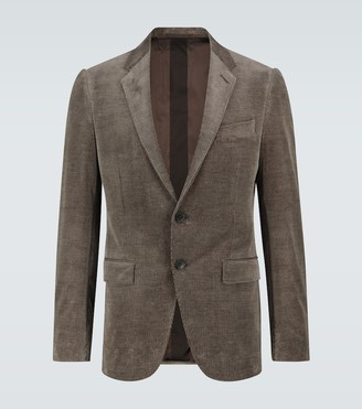 Ermenegildo Zegna Corduroy single-breasted blazer