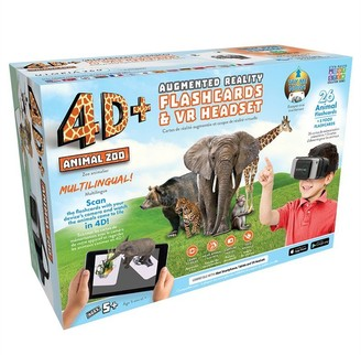 Emerge Technologies AR Cards and VR Headset Zoo Bundle