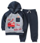 Kids Headquarters Little Boy's To The Rescue Hoodie and Pants Set