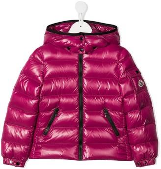 Moncler Enfant Metallic Puffer Jacket