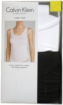 Calvin Klein 2 Pack Tank Tops Black & White