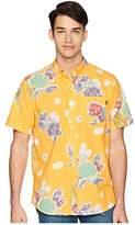HUF Men's Botanica Floral S/s Shirt