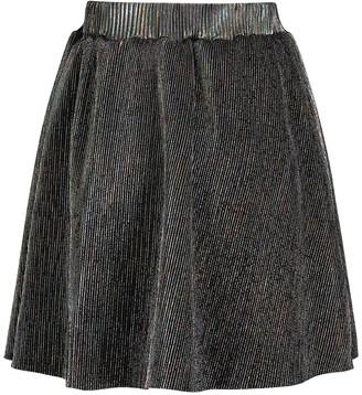 Andy & Evan Iridescent Pleated Skirt (Baby Girls)
