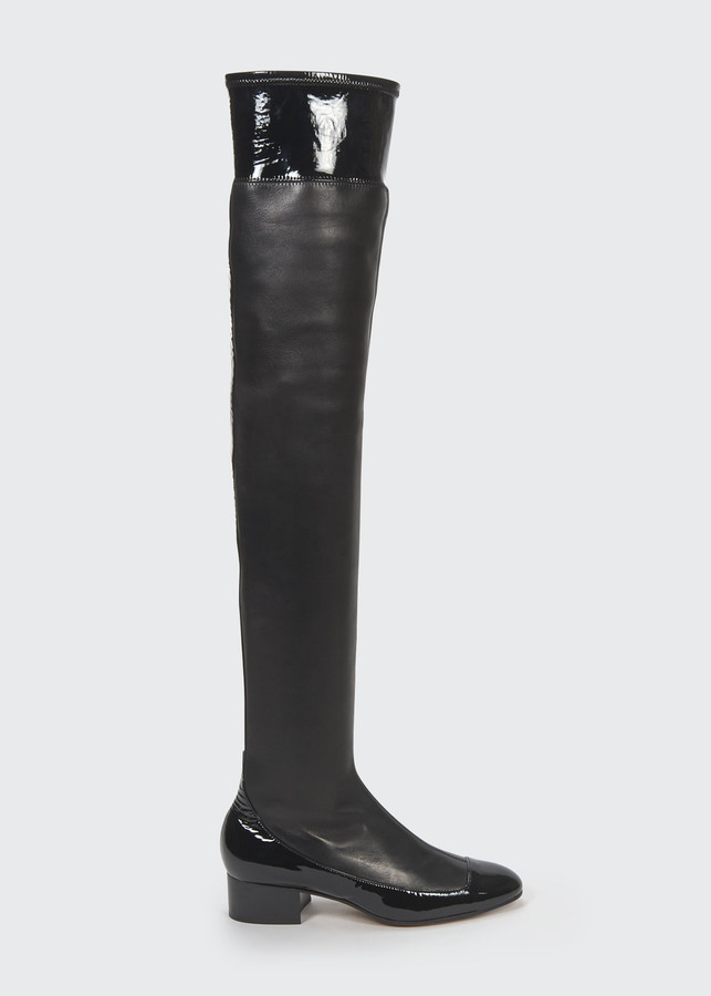Thigh High Stretch Boots | Shop the