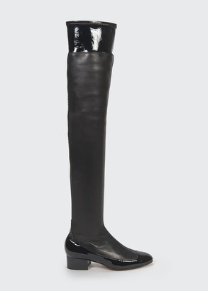 Loewe 40mm Stretch Thigh-High Boots