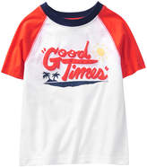 Crazy 8 White 'Good Times' Raglan Tee - Infant, Toddler & Boys