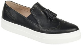 Journee Collection Alisha Wingtip Slip-On Sneaker