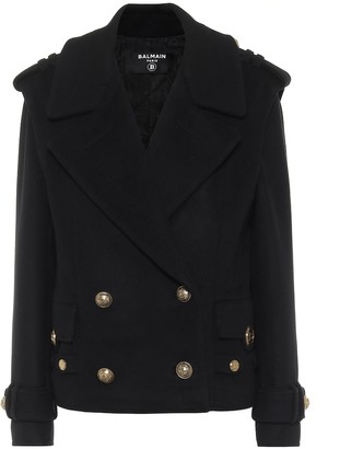 Balmain Wool and cashmere jacket