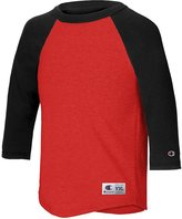 Champion Boys Big Raglan Baseball Tee