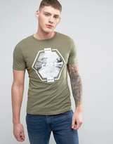Jack and Jones Core Chest Print T-Shirt