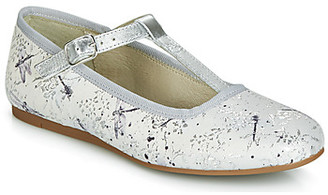 Citrouille et Compagnie JANETTE girls's Shoes (Pumps / Ballerinas) in Grey