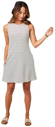 Carve Designs Payson Dress (Cloud Bayside Stripe) Women's Dress