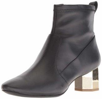 Katy Perry Women's The The Daina too Ankle Boot BLACK 6 M M US