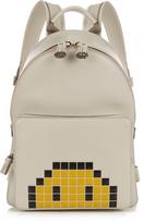 Anya Hindmarch Pixel Smiley mini leather backpack