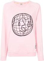 Kenzo embroidered sweatshirt - women - Polyester - XS