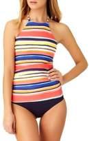 Anne Cole Multicolored Tankini Top