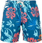 Drumohr Hawaiian print short
