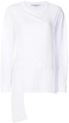 Stella McCartney Asymmetric Panelled Sweater