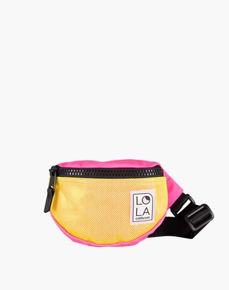 Madewell LOLA Moonbeam Bum Bag in Neon Colorblock