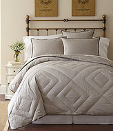 Pendleton Primaloft Vintage Diamond-Quilted 300-Thread-Count Down-Alternative Hypoallergenic Comforter