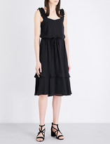 Claudie Pierlot Riviere crepe dress