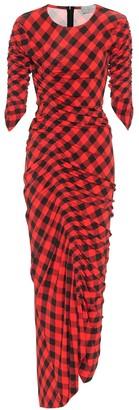 Preen by Thornton Bregazzi Edana checked dress