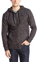 French Connection Men's Feltet Fleck Knits Zip Up Sweater