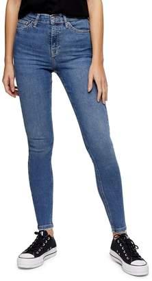 Topshop Abraided Hem Jamie Jeans 30-Inch Leg